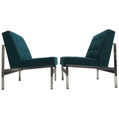 Rare Pair of 020 Lounge Chairs, Kho Liang Ie for Artifort the Netherlands, 1958