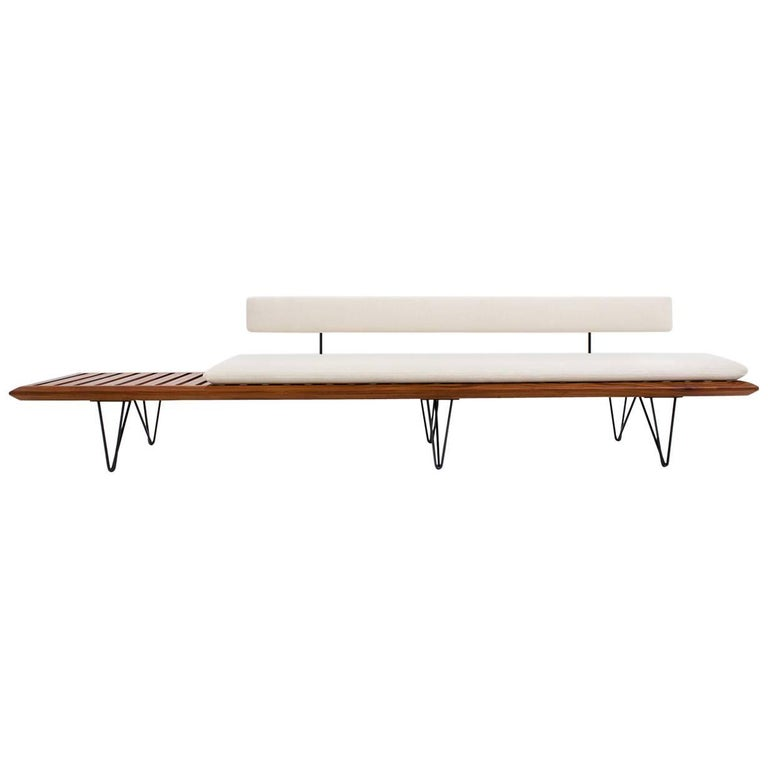 Bench by Carlo Hauner and Martin Eisler, Brazil, 1950s