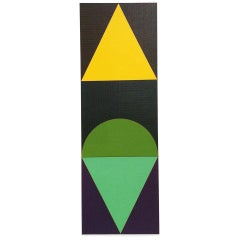Gordon House 'Series 8 Vertical Tri Motif (C)' Screenprint