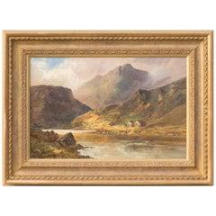 Ballinuig, a Highland Landscape by F E Jamieson