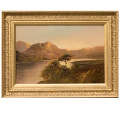Queen's View, a Highland Landscape by F E Jamieson