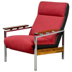 Midcentury Dutch Design Lounge Chair Designed by Rob Parry for Gelderland