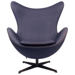 'Fritz Hansen's Choice' Limited Edition Arne Jacobsen Egg Chair with Bronze Base