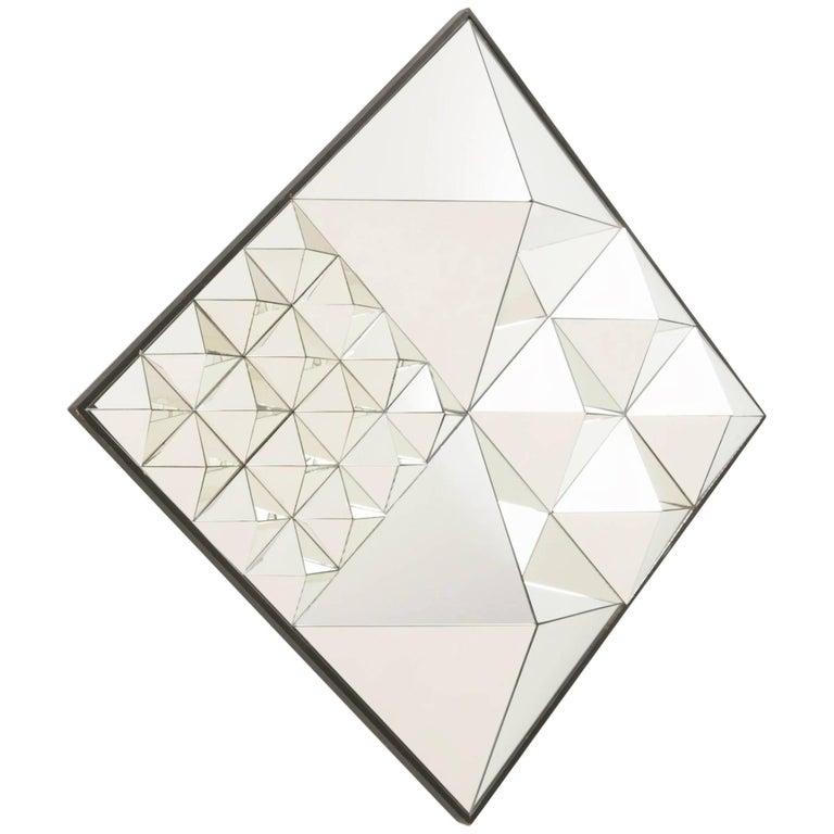 "Verner Panton ""Diamond Pyramid"" Mirror, Model No. 570039 For Sale"