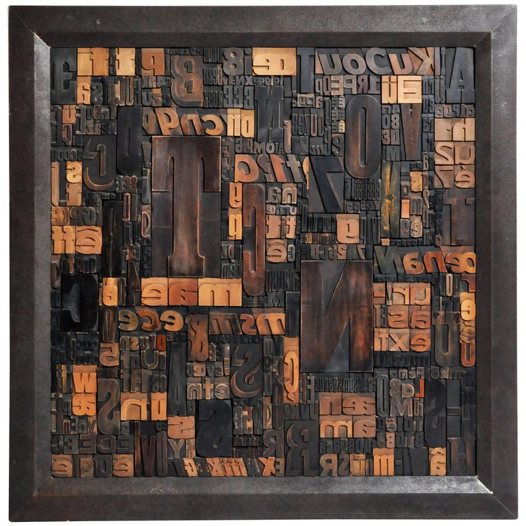 """Les Lettres"" Contemporary Art Work by Raoul W."