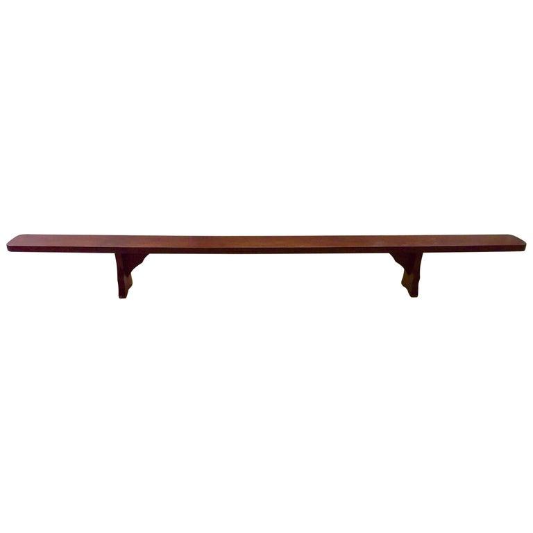 Jose Zanine Caldas, Bench, Solid Wood, Brazilian Modern Design
