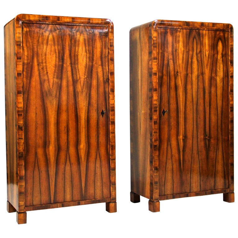 Pair of Biedermeier Cabinets, CZ circa 1830