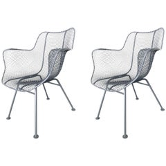 Two Russell Woodard Armchairs Sculptura