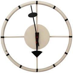Steering Wheel Wall Clock by George Nelson for Howard Miller