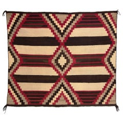 Vintage Navajo Chiefs Blanket '4th Phase Variant', Early 20th Century