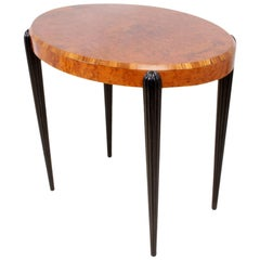Art Deco Side Table in the Style of Rhulman