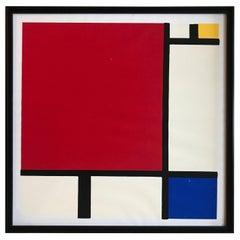 Piet Mondrian, Silk Print