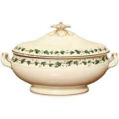 Wedgwood Creamware Covered Tureen with Ivy Decoration