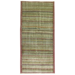 Vintage Turkish Shabby Chic Rug