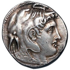 Alexander the Great, Kingdom of Egypt Ptolemy I, 323-318 BC, Silver Tetradrachm