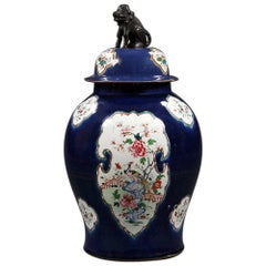 18th Century Chinese Covered Vase