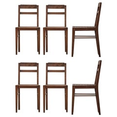 Set of Six Chairs in the Style of René Gabriel, 1960s