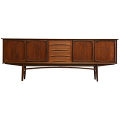 Scandinavian Sideboard by Rastad Reling for Gustav Bahus