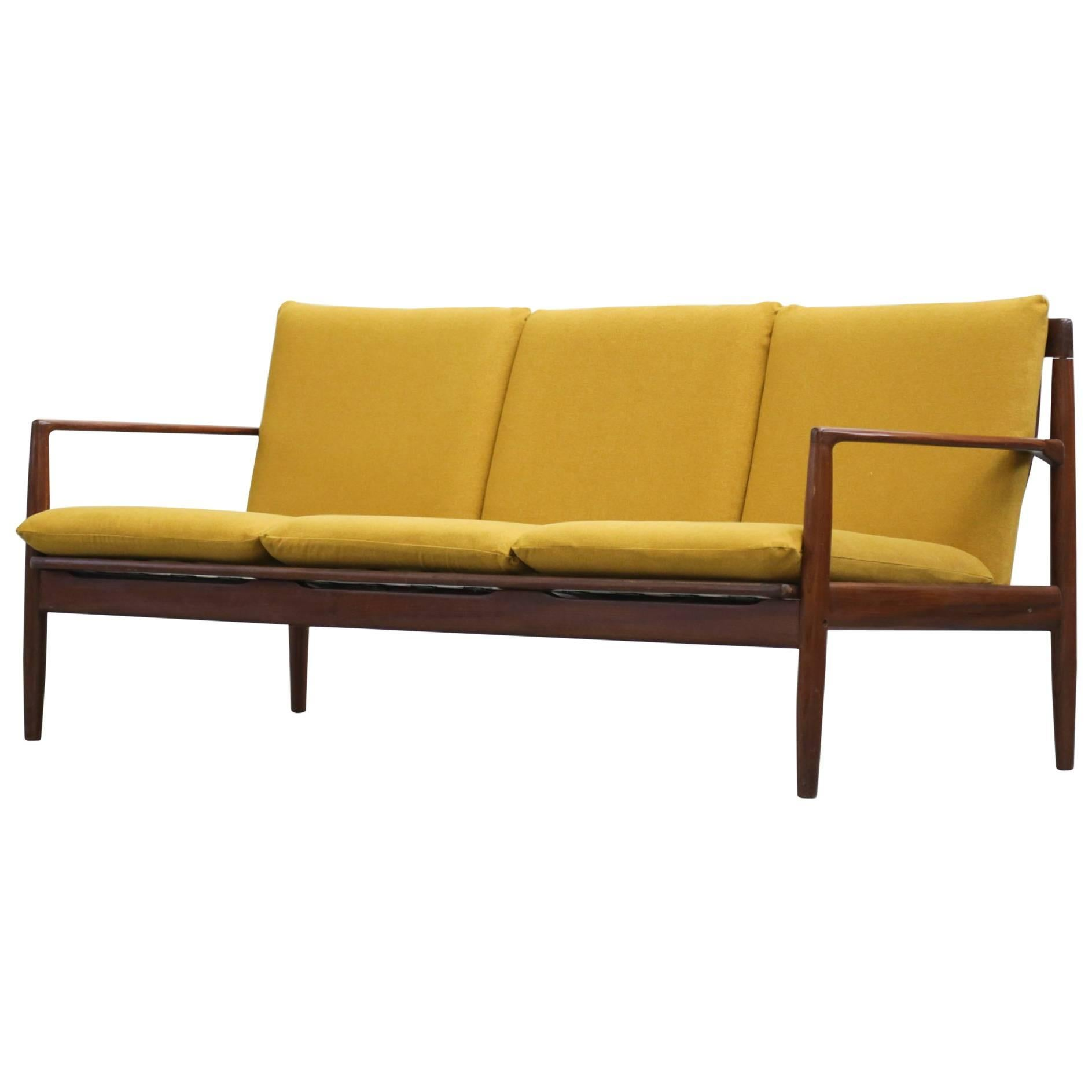 Scandinavian Sofa In The Style Of Grete Jalk, 1960s For Sale