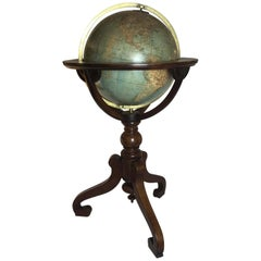Terrestrial Library Globe by W&A.K. Johnston, circa 1880