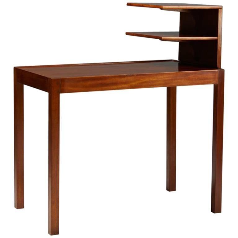 Charmant Side Table With Bookshelf Designed By Josef Frank For Svenskt Tenn, Sweden,  1950 For