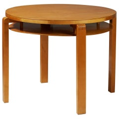 Occasional Table Designed by Alvar Aalto for Artek, Finland, 1930s