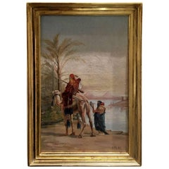 Late 19th Century, Otto Pliny Oil Painting