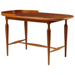 Occasional table model 961 designed by Josef Frank for Svenskt Tenn, Sweden.