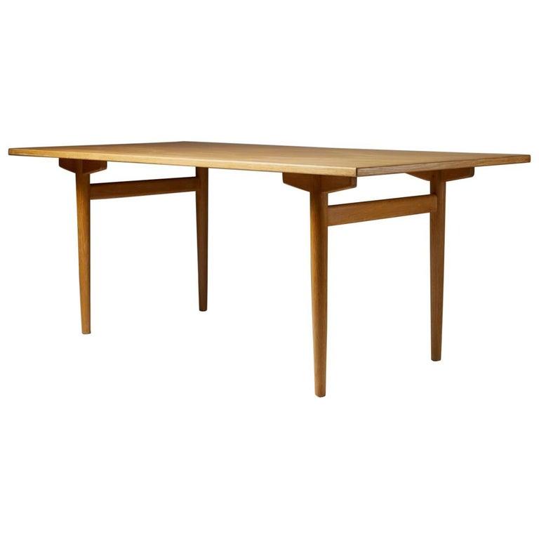 Dining Table Designed by Hans Wegner for Andreas Tuck, Denmark, 1950s