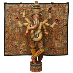 Monumental Indian Ganesh Sculpture, 1970s, India