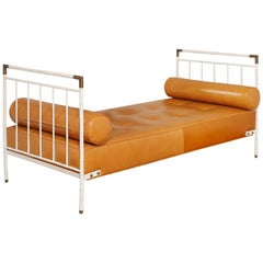 Rare Jacques Adnet Daybed