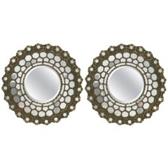 Pair of Indian Mirror, 1970s, Indian