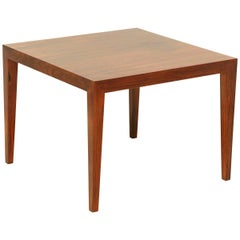 Gorgeous Rosewood Side Table, Denmark, 1960s