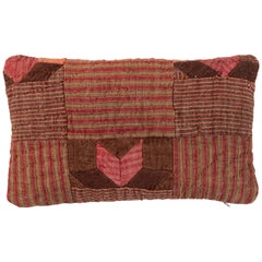 19th Century French Linen Quilted Pillow