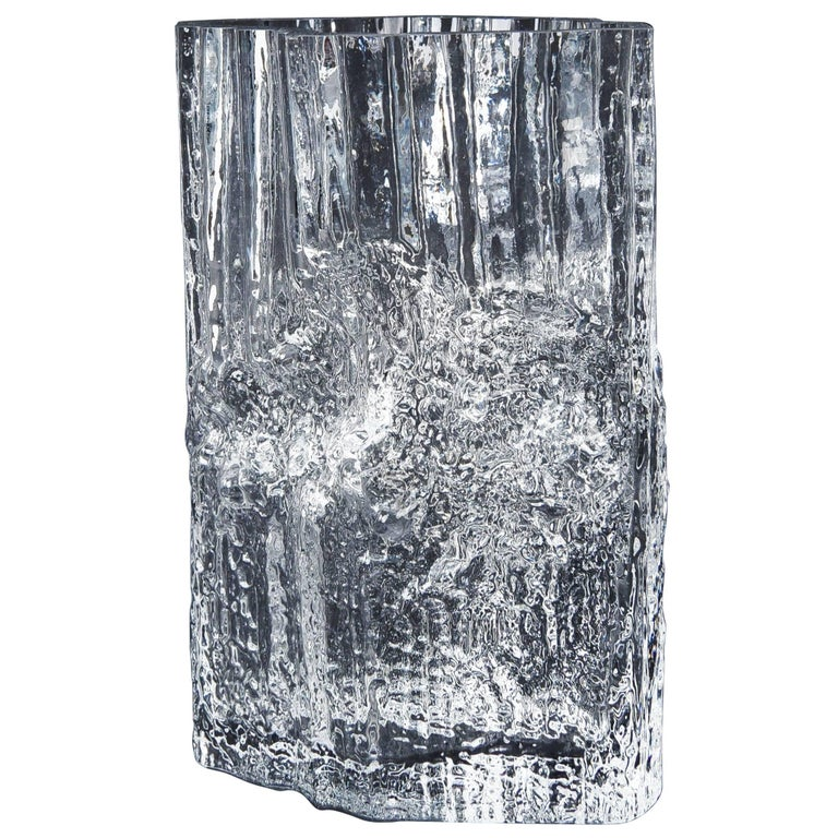 Tapio Wirkkala for Iittala Ice Glass Vase