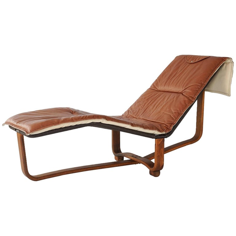 Reclining Chaise By Ingmar Relling And Knut Relling For