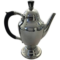 Georg Jensen Sterling Silver Large Coffee Pot #88