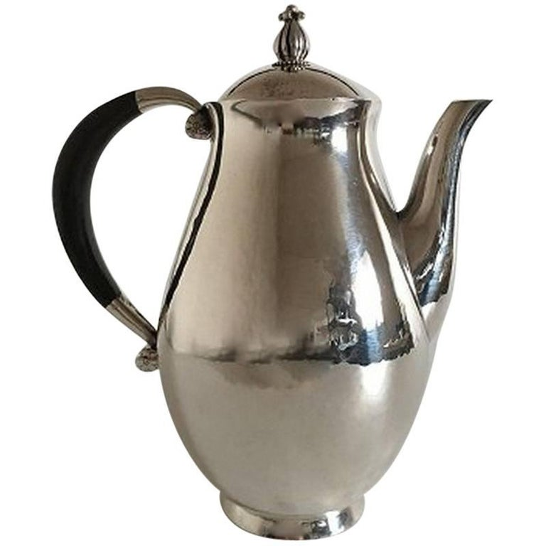 Georg Jensen Sterling Silver Coffee Pot #526