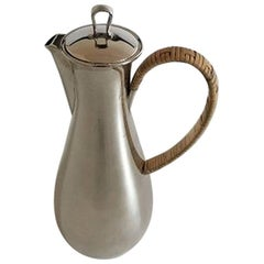 Georg Jensen Sterling Silver Coffee Pot #967 by Sigvard Bernadotte