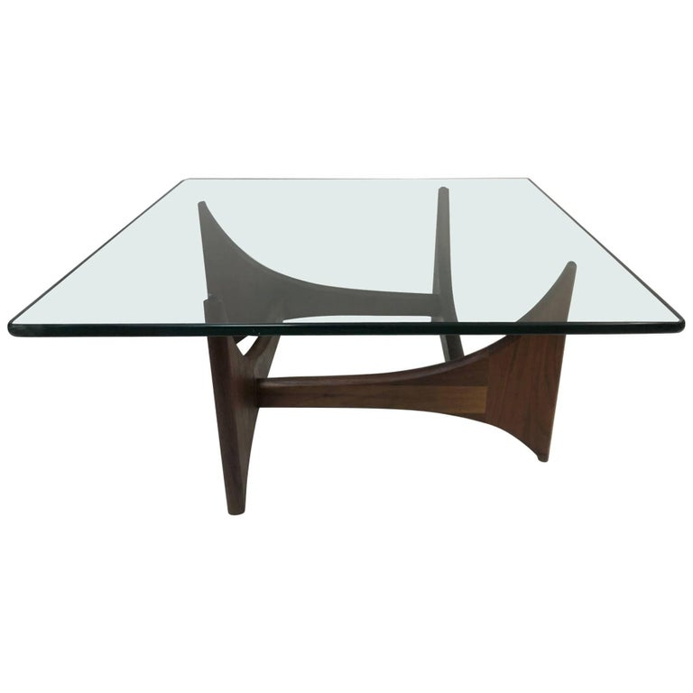 Lane Pearsall Coffee Table: Mid-Century Modern Coffee Table By Adrian Pearsall For