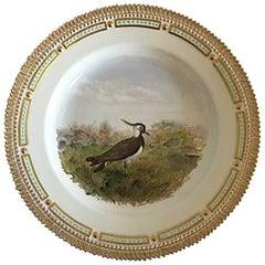 Flora Danica Bird Dinner Plate #240/3549