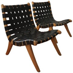 Pair of San Miguelito Chairs by Michael van Beuren for Domus of Mexico City