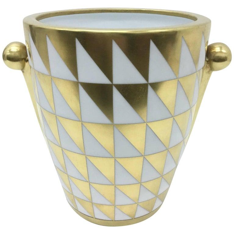 Amazing Richard Ginori Biscuit Vase, circa 1980