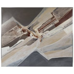"""Gregory Deane """"Shadow Planes"""" Oil on Canvas"""