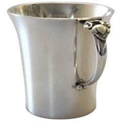 Georg Jensen Sterling Silver Acorn Child Cup #662A