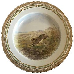 Flora Danica Animal Dinner Plate #239/3549