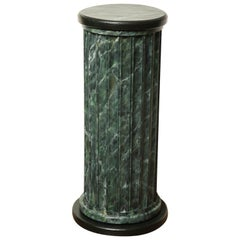 20th Century Faux Marble Statuary Column
