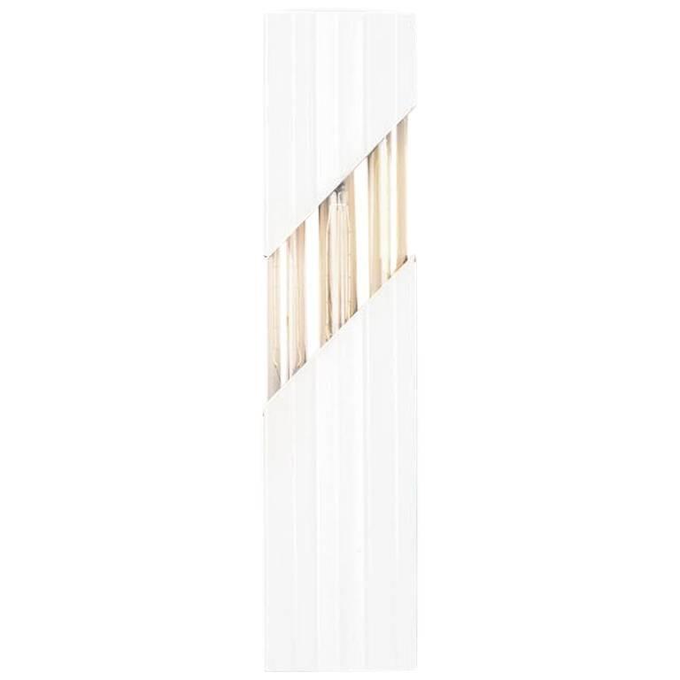 Daikon Dash Midcentury Steel Wall Sconce, Minimal Modern Fixture