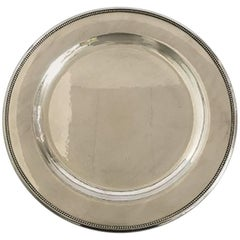 Georg Jensen Sterling Silver Plate/Tray No. 210 N