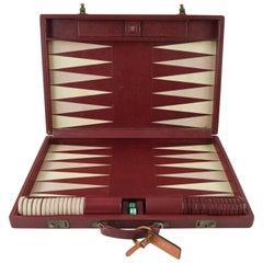 Vintage Geoffrey Parker Backgammon Set